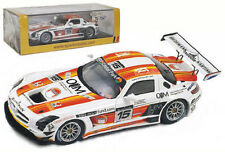 Spark SB024 Mercedes-Benz SLS AMG #15 24hr Spa 2011 - 1/43 Scale