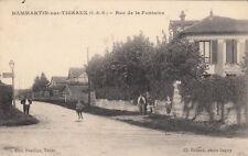 DAMMARTIN-SUR-TIGEAUX rue de la fontaine éd pourlier collard timbrée 1910
