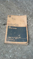 Caterpillar 926 Wheel Loader Parts Book
