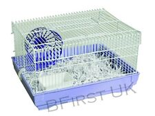 Starter Hamster Cage for Pet Mice Small Rodents Home Animal Rat Water Bowl Wheel