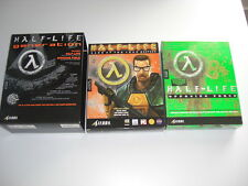 HALF LIFE GENERATION - GOTY base game & Opposing Force Pc Cd BIG BOX Double Pack
