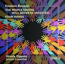 Rzewski / Oppens / L - People United Will Never Be Defeated [New CD]