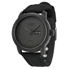 Citizen BM8475-00F Eco-Drive Blackout Canvas Strap Mens Watch