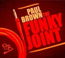 Paul Brown - The Funky Joint New Factory Sealed CD