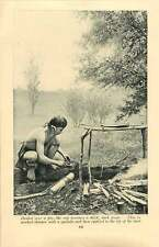 1920 Borneo Blowpipe Dart Poison Collection And Application