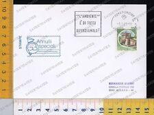 2422] TARGHETTA PUBBLICITARIA ROMA 1985 - L'AMBIENTE è DI TUTTI DIFENDIAMOLO
