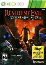 Resident Evil: Operation Raccoon City Xbox 360   New