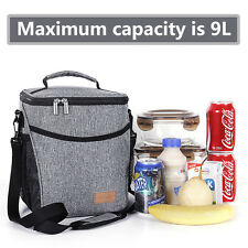 Lifewit Waterproof Thermal Cooler Insulated Lunch Box Portable Tote Storage bag