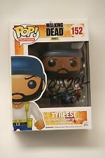 Chad Coleman Hand Signed Walking Dead Tyrese Funko Pop! Vinyl SIgned In Black
