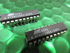 AT89C2051-24PU AT89C2051 MICROCONTROLLER IC ATMEL DIP-20 **2 Per Sale**