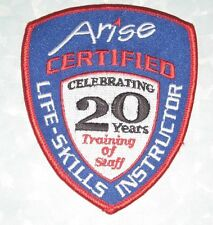 "Arise Certified Life-Skills Instructor Patch - 3 1/4"" x 4"" - At-Risk Youth"