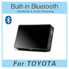 Adaptador de Bluetooth Usb Aux MP3 Cambiador CD Toyota Hilux Yaris Corolla Verso