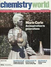 Chemistry World - Jan 2011 - Royal Society of Chem -Mary Curie, pentacene, fakes