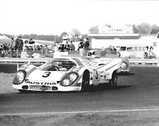 Vintage 8 X 10 1970 Daytona 24 Hours Salzburg Porsche 917K Auto Racing Photo