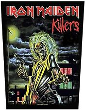 Iron Maiden Killers (full Eddie) backpatch sew-on patch 360mm x 300mm (ro)