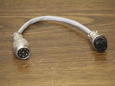 Kenwood 8 Pin Round To Kenwood 4 Pin Round Mic Adapter #33D