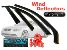 BMW 5 E60 2004-2010 SALOON  Wind Deflectors 4 pcs HEKO (11132)