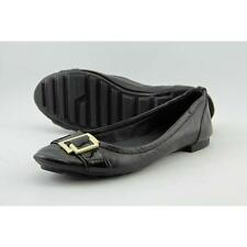Calvin Klein Calayla Women US 8 Black Flats Pre Owned  1795