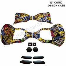 "FUMETTO 10 POLLICI Hoverboard involucro in plastica swegway case 10 ""Frame Outer COVER"