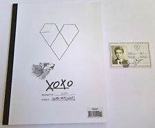 EXO K 1st Album XOXO Kiss Ver. Korean Press CD - Sehun Photocard K-pop
