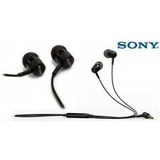 Genuine Sony Xperia Z5 Z3 C4 MH750 Headset Handsfree Earphones Headphones Black