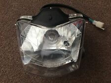 MEGELLI MOTARD 125M MOTORCYCLE FRONT HEADLIGHT ASSEMBLY, HEAD LIGHT