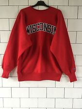 USA URBAN VINTAGE RETRO RED CHAMPION SWEATSHIRT SWEATER SIZE XL #105