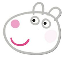 Suzy Sheep Officially Licensed Single Card Party Fun Face Mask from Peppa Pig