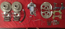 "1967 1968 1969 camaro firebird disc brake conversion 9"" chrome booster rrh"