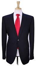 * LOUIS VUITTON * Recent Black Tonestripe Shadow Stripe 2B Slim Wool Suit 40L