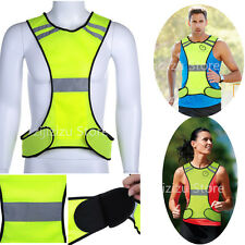 Motorcycle Fluorescent Green High Visibility Safety Neon Reflective Racing Vests