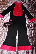 Girls fancy dress party Cat  costume Halloween age 5-7 years