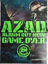 AZAD  2006  orig.Concert-Konzert-Tour-Poster-Plakat 84 x 60 cm used  TOP