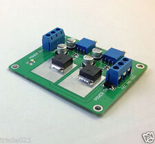 Dual power supply module regulator power DIY Audio Amplifier Board