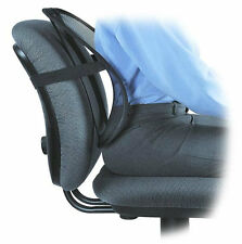MESH LOWER BACK LUMBAR SUPPORT PAIN RELIEF CUSHION CAR SEAT POSTURE CORRECTOR