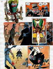 BATMAN MASTER OF THE FUTURE Pg #25 HAND COLORED PRINT GUIDE Barreto, Steve Oliff