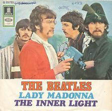 "7"" - Beatles - Lady Madonna / The Inner Light - Odeon 23733 - DE 1968"