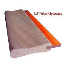 6.5 Inch Silk Screen Printing Squeegee Ink Scraper Scratch Board 75 Durometers