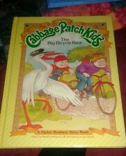Cabbage Patch Kids Book The Big Bicycle Race 1984 Hardcover