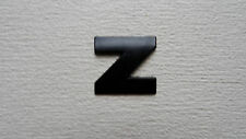 "* FULL METAL * Nero 3D Adesivo Car BADGE HOME EMBLEMA Autoadesivo-Lettera ""Z"""