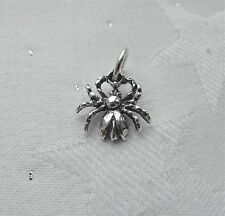 SPIDER WICCA PAGAN CHARMS CHARM 925 STERLING SILVER