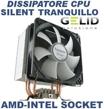 DISSIPATORE CPU GELID SILENT TRANQUILLO 775 1336 1156 945 AMD AM2+ INTEL SOCKET