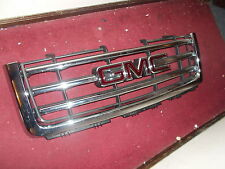 2007 2008 2009 2010 2011 2012 GMC SIERRA CHROME LATERAL SLATS GRILL GRILLE NEW