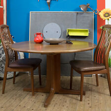 Danish Modern vintage mid century modern Dining table table LudovicGrossard panton affirmés