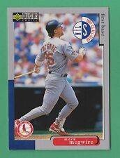 1998 Upper Deck Collector's Choice Mark McGwire Cardinals #220 (WDC)