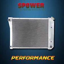 Aluminum Radiator 3 Row 52mm For Buick 65-85 Chevrolet 68-88 L6 V8 V6 AT MT