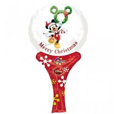 Navidad Mickey Mouse inflate-a-fun Mini Hand Held Globo-llenador de la media