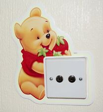 Light Switch Wall Sticker, Kids Bedroom Decor,Glow in the Dark,Character Sticker