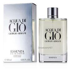 Acqua Di Gio Essenza by Giorgio Armani for Men 6.08 oz Eau de Parfum Spray