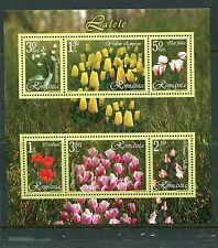 Romania 2006 Scott 4817b Flowers Sheet of 6 Tulips NH